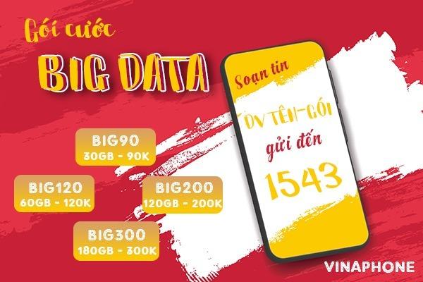 Đăng ký 4G Vinaphone ưu đãi data gấp 10 lần tốc độ cao