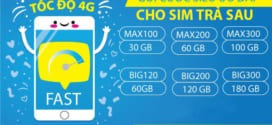 Đăng ký gói cước 4G Vinaphone trả sau ưu đãi 2GB, 3GB/ngày mới nhất 2021